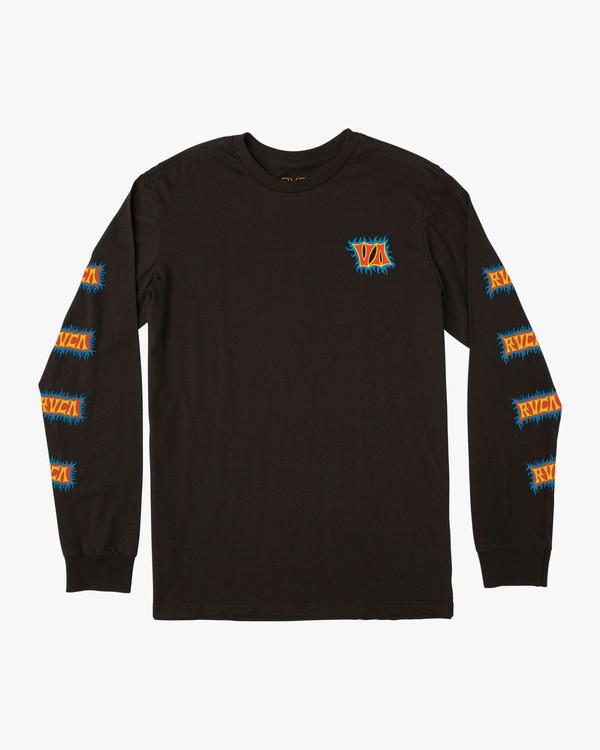 0 Crawling Long Sleeve T-Shirt Black M451TRCR RVCA