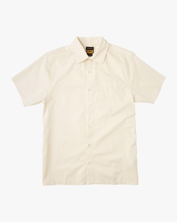 0 E Dot Short Sleeve Shirt  M506NRED RVCA