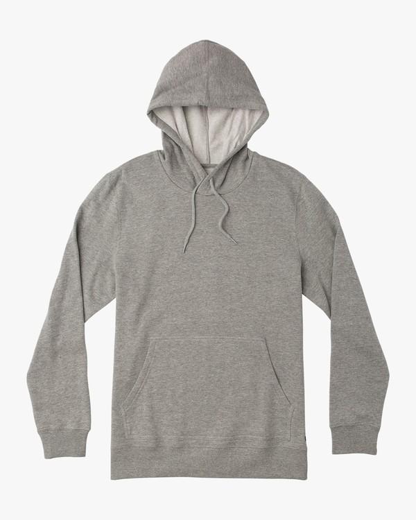 0 Dayshift Hoodie Grey M610QRPW RVCA