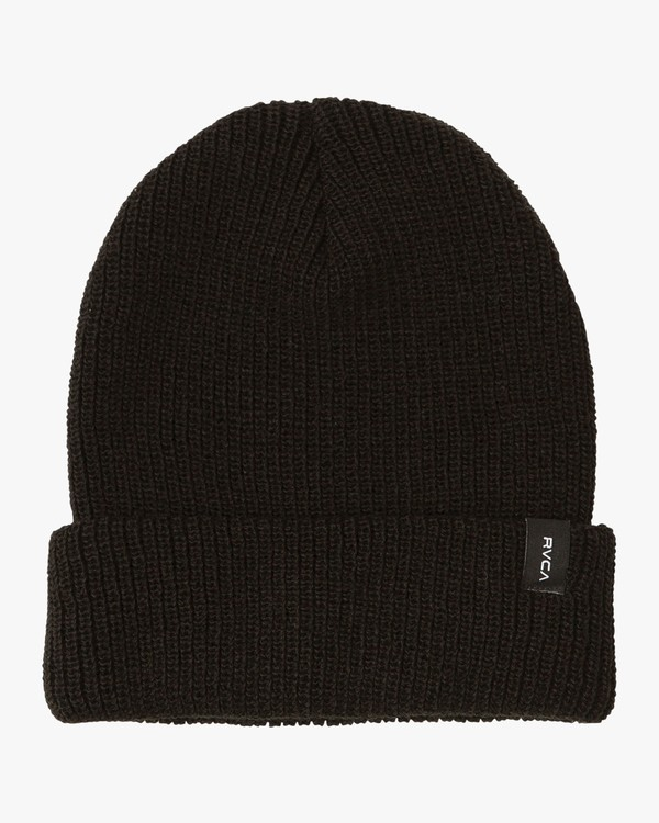0 Dayshift Knit Beanie Black MABNQRDS RVCA