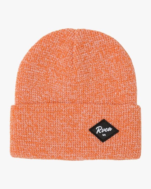 0 Vibes Knit Beanie Orange MABNTRVB RVCA