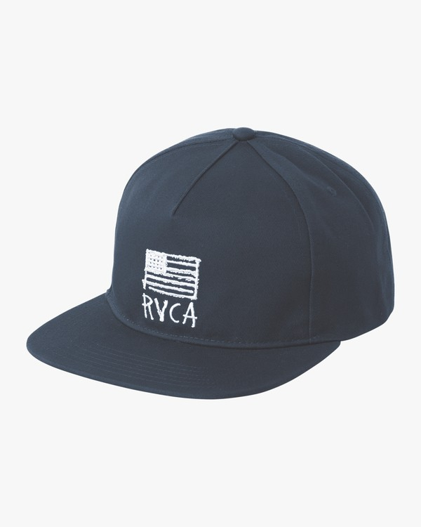 0 FLAGS UNSTRUCTURED H Blue MAHWPRRF RVCA