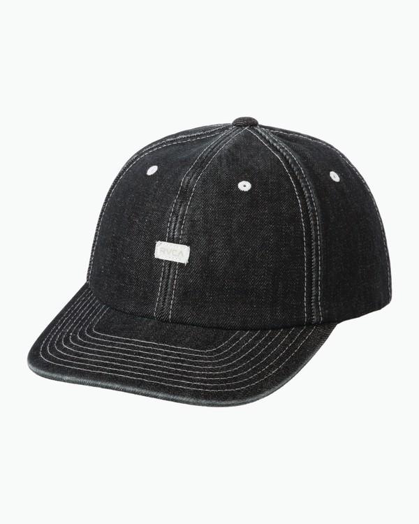 0 Neutral Plus Minus Snapback Hat Blue MAHWQRPM RVCA