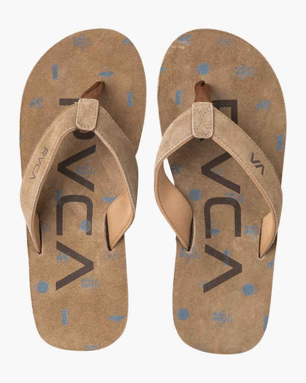 0 Federal Sandals Blue MFASPFDS RVCA