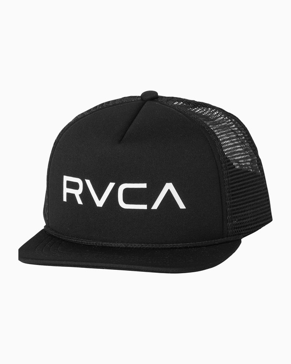 0 RVCA Foamy Trucker Hat Black MGAHWRFT RVCA