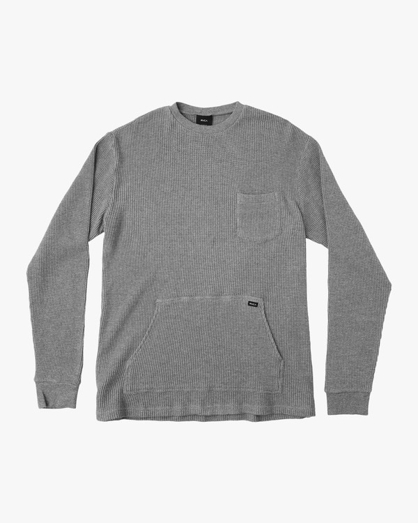 0 Shibuya Crew Knit Pullover Grey MM908SHI RVCA