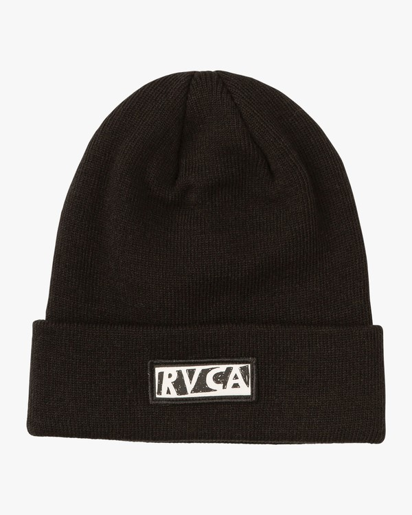 0 Grillo Beam Up Beanie Black WAHWQRBE RVCA