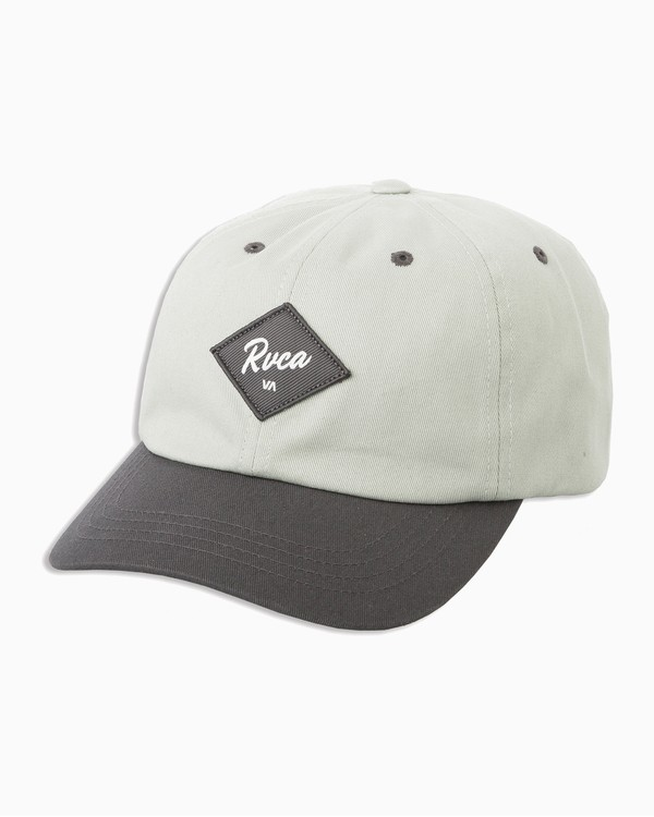 0 Tom Gerrard Holla Dad Hat Grey WAHWTRHO RVCA