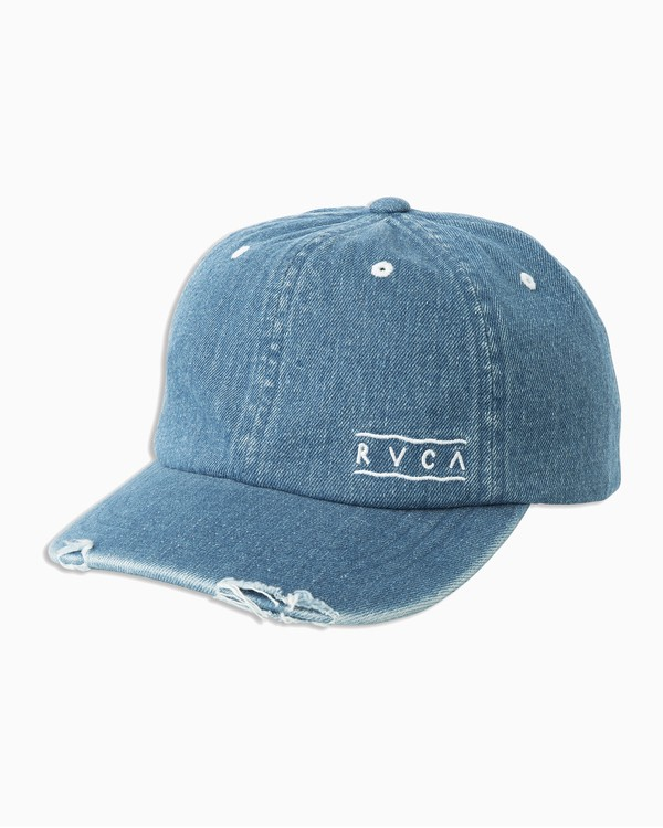 0 Tom Gerrard Holla Dad Hat Blue WAHWTRHO RVCA