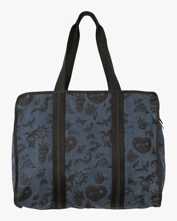 0 Dream On Printed Tote Bag Blue WLABADRO RVCA